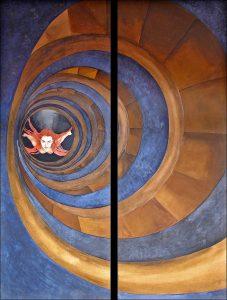 2006. CELINDA MESA. La escalera del vacío
