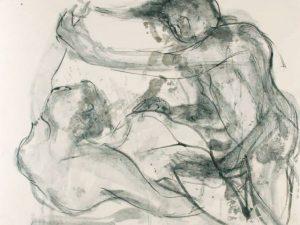 2007.5 Imelda Ferrer. Lápiz, tinta, papel y plata